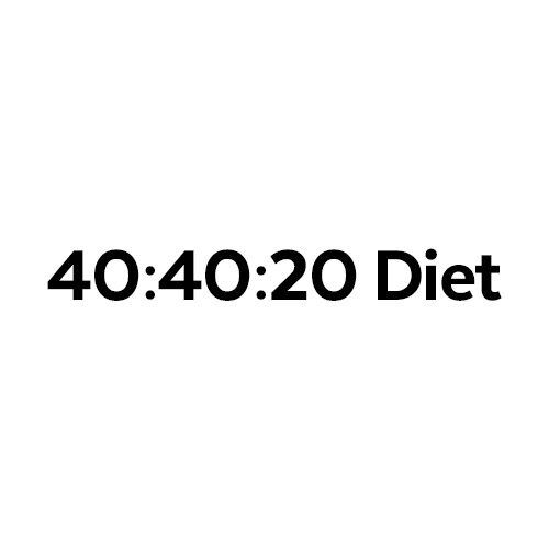 40:40:20 Diet Review