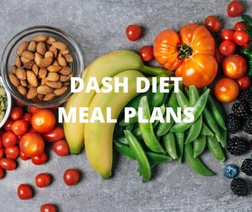 Dash Diet Sample Meal Plans