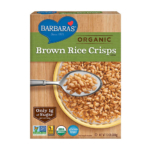 Better Choice: Brown Rice Cereal with Flax vs. Rice Krispies